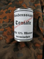 Wehrmacht Kondenssuppe Tomate Field Ration Tomato Soup...
