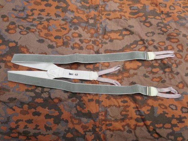 WH Hosenträger bml43 aus Depot WK2 WWII WW2 LW M40 M43 Tunic Wehrmacht Suspender