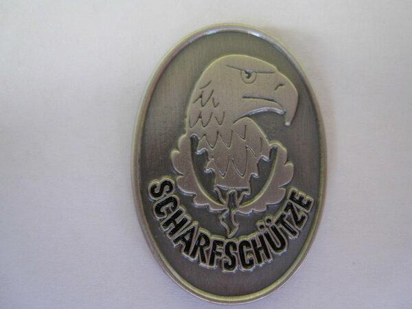 WH Scharfschützen Abzeichen Adler mit Eichenlaub Pin #2 Wehrmacht WW2 WK 2 WWII