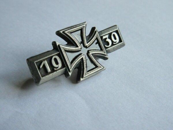 WH WW2 EK1 1939 Eisernes Kreuz Spange mit Nadel Wehrmacht Iron Cross WK2 WWII