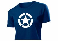 Women T-Shirt Allied Star US Army WAC WAAC WASP Pilots WK2 WWII Gr S-XXL #1