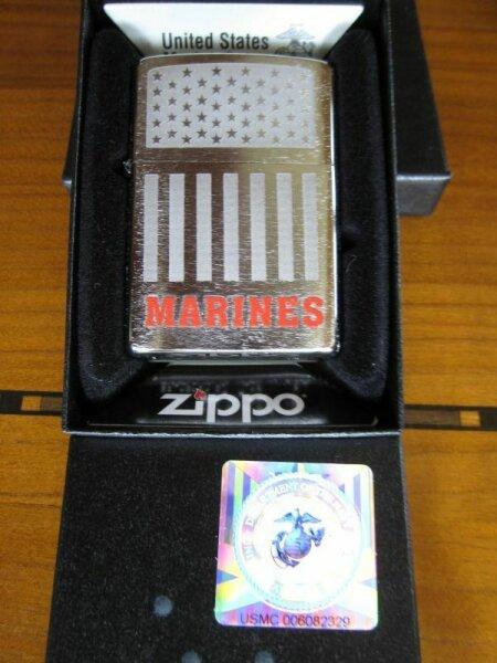 Zippo Marines US Army licensed USMC VMF-214 Marines Vietnam Navy WWII WK2 OVP
