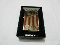 Zippo Stars & Stripes USA Flagge V8 Big Block...
