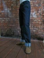 Quartermaster Denim Jeans 30er Jahre Style Rockabilly US Army Nose Art X-Long