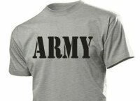 """ARMY"" T-Shirt US Army Airforce Militär Gr 3-5XL Training Navy Marines Pilots"
