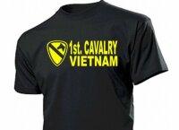 1st Cavalry Vietnam T-Shirt Gr 3-5XL US Army WK2 WWII USMC Marines Platoon Navy