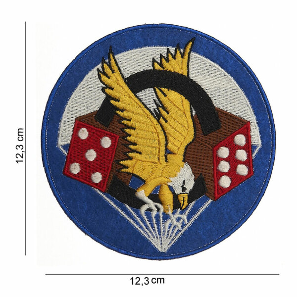 506th Infantry Division 101st Airborne Parachute Reg Insignia Patch US Army WWII