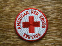 American Red Cross Military Welfare Service Patch WAC...