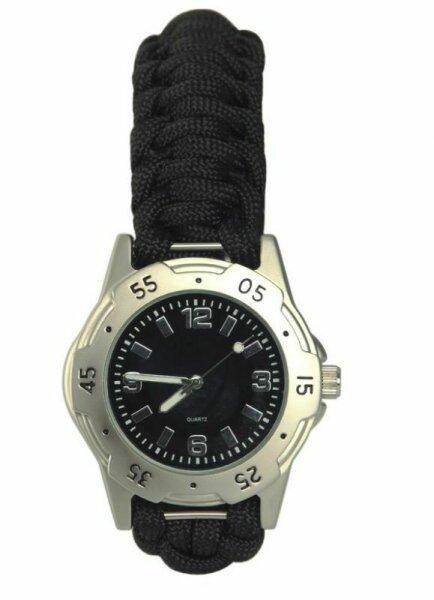 Armbanduhr Parachute Fallschirmleine Survival Rettungsseil Wrist Watch Safety