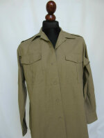 Army Khaki Field Shirt Feldhemd Air Corps Chino Officer...