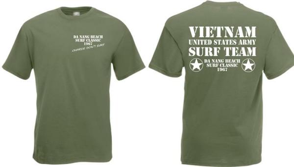 Charlie dont surf US Army Vietnam 1967 T-Shirt S-XXL WH US Army USMC Marines WK2
