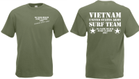 Charlie dont surf US Army Vietnam 1967 T-Shirt S-XXL WH...