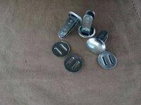 Nieten Stahlhelm Splinte Helmsplinte gestempelt...