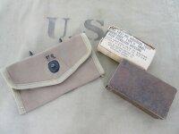Orig US Army Verbandspäckchen Tasche + First Aid...