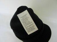 Original USA Army Watch Cap Navy Schirmmütze Strickmütze Beanie Hat Boonie