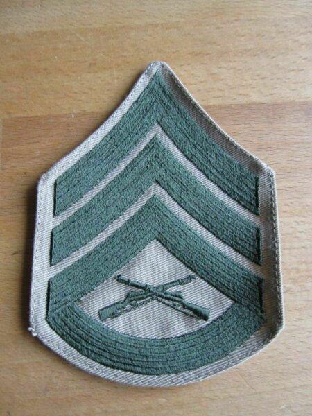 Patch US Army Rangabzeichen Staff Sergeant Seals Navy Marines USMC M41 WKII WW2