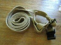 Gasmaskendose Beriemung Canvas Sling WH WK2 WWII Gasmask...