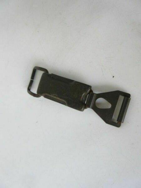 Gasmaskendose Verschluß ZF4 Box Original WH WK2 WWII Gasmask Can Wehrmacht WW2