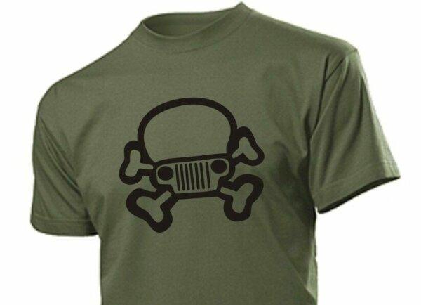 T-Shirt Freak Skull Totenkopf Ram F-150 Größe S-5XL 4x4 Offroad Oldtimer US Car