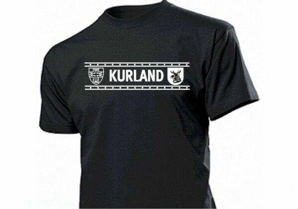 T-Shirt Kurland Ärmelband Wehrmacht WH WK2 WWII Gr 3-5XL Legion 1919 1939 #2