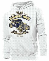 Hoody Rockabilly Vintage Iron Hot Rod Customs US Car Ratty Rod Nose Art V8 Bike