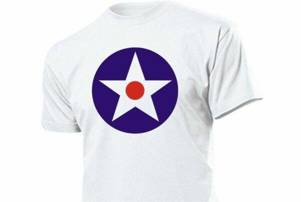 US Air Corps Kokarde T-Shirt US Army US Navy WWII WK2 Marines USMC Vietnam S-XXL