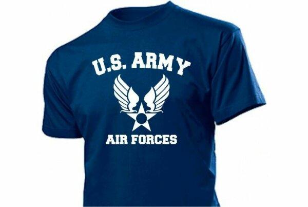 US Army Air Forces Pilots USAF T-Shirt Gr S-XXL WK2 WWII USAAF Navy USMC Marines