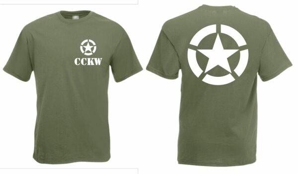 US Army GMC CCKW T-Shirt US Car Off-Road Oldtimer Vietnam USMC Navy Gr 3-5XL WK2
