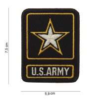 Patch / Aufnäher Flagge US Army Allied Star
