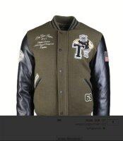 US Baseball Jacke Top Gun League Champs Football USA...