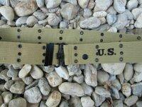US Army Koppel Lochkoppel M36 Belt WK2 WWII 1944 Gr L-130...
