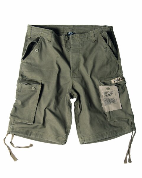 US Army M65 Shorts Oliv Prewashed Paratrooper Gr S Camo Outdoor Camo Pants