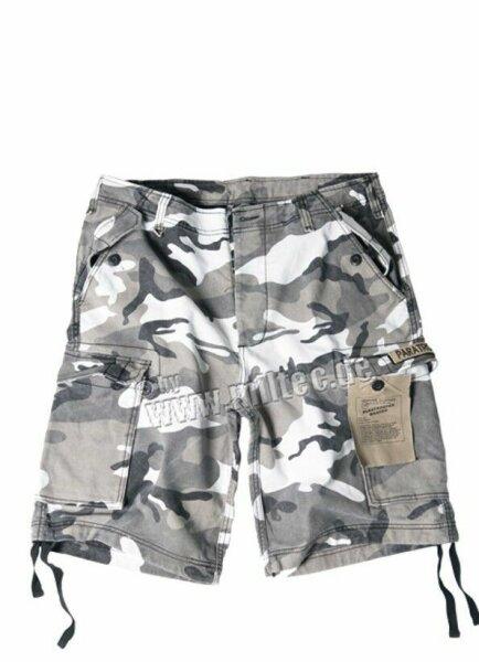 US Army M65 Urban 3-color Night Shorts Prewashed Paratrooper Gr XL Camo Shorts