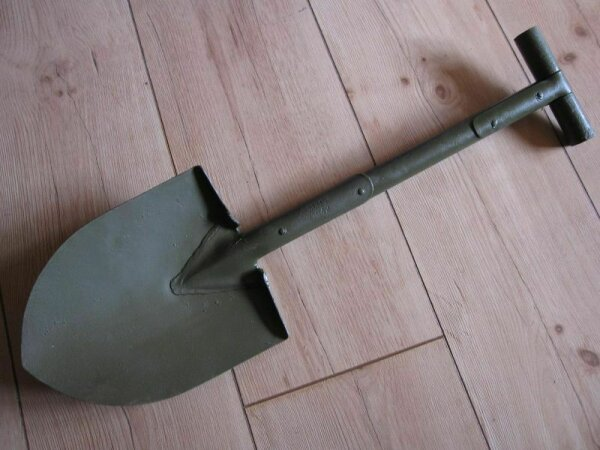 US Army T-Spaten Shovel Paratrooper Pioneer US Car Entrenching Tool 1942