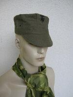 US Army USMC Marine Corps Green HBT Utility Cap WK2 WWII...