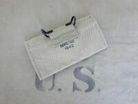 US Army Verbandspäckchen Tasche + First Aid Dressing Kit Pouch Pistol Belt M1936
