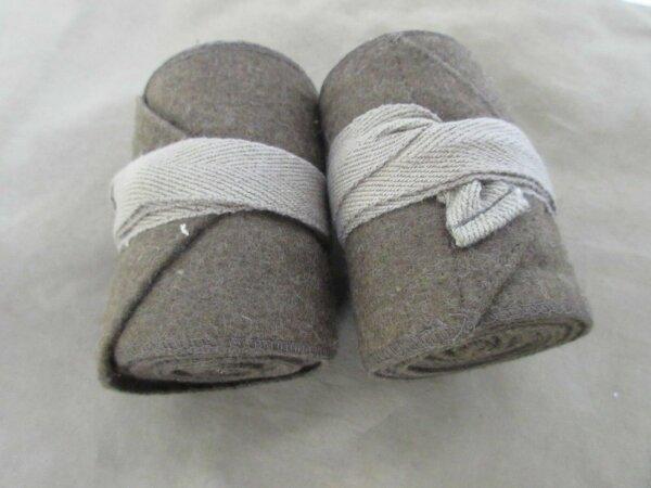 US Army Wool Putty Woll Gamaschen Gaitors Leggings Wickelgamaschen WK1 WWI USMC