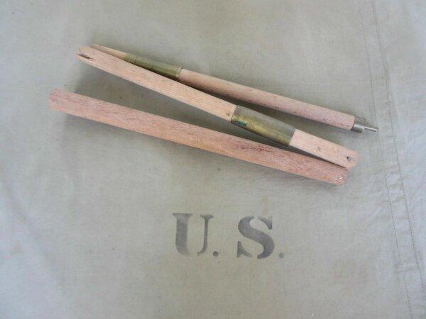 US Army Zeltbesteck Zeltstangen 1. Modell 1942 Zeltstange Tent Pole WWII WK2