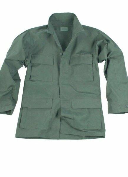 """US BDU Feldjacke """"light Jacket"""" oliv Gr L Fieldjacket Sommerjacke Army"""