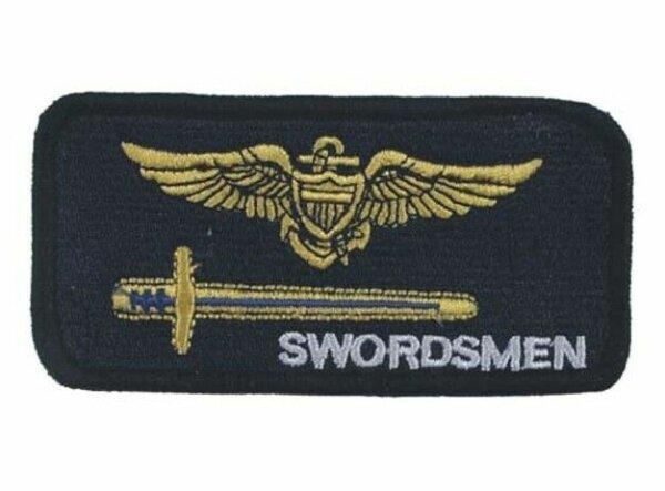 US Navy Strike Fighter Squadron Swordsmen VF-103 USMC Patch Aufnäher WWII WK2