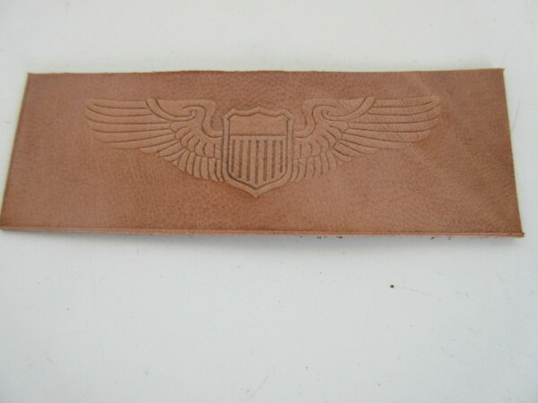 USAF US Army Airforce  A2 G1 B-17 P-51 Patch Leather Jacket Pilot Wings #39 WW2