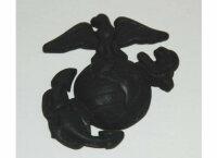 USMC Insignia Badge Screw Visor Hat Marine Corps Army...