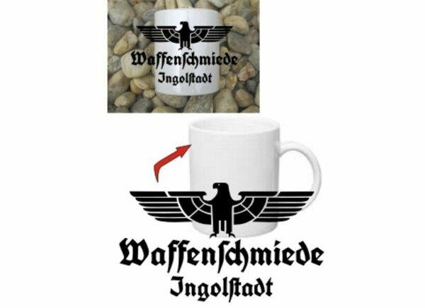 Waffenschmiede Ingolstadt Tasse Kaffeetasse WH Adler Vehicle Coffee Mug WK2