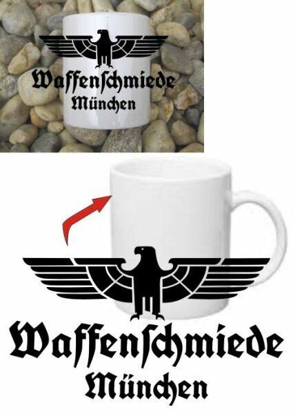 Waffenschmiede München Tasse Kaffeetasse WH Adler Vehicle Car Coffee Mug WK2