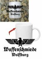 Waffenschmiede Wolfsburg Tasse Kaffeetasse WH Adler Car...