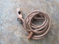Wehrmacht P08 Luger Leather Lanyard Leder Fangband Pistol...
