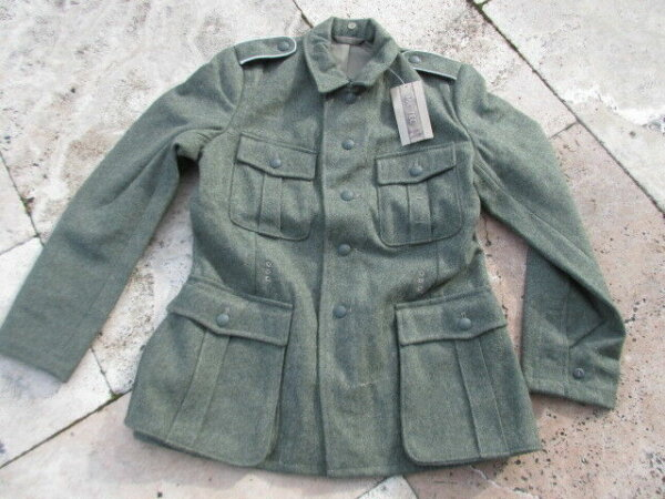 WH Feldjacke M40 Gr 56 Uniformjacke Feldbluse Wehrmacht WK2 WWII Fieldjacket