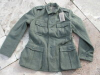 WH Feldjacke M40 Gr 56 Uniformjacke Feldbluse Wehrmacht...