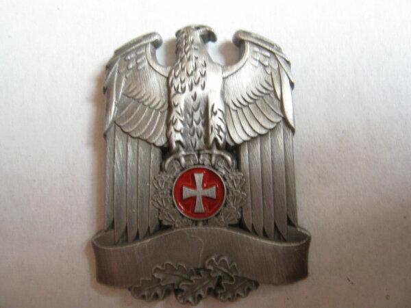 WH Reichsadler Banner Eisernes Kreuz Schild Pin Anstecker Wehrmacht WW2 WK2 WWII
