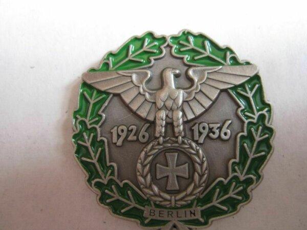 WH Reichsadler Berlin 1926 1936 Eisernes Kreuz Pin Anstecker Wehrmacht WK2 WWII